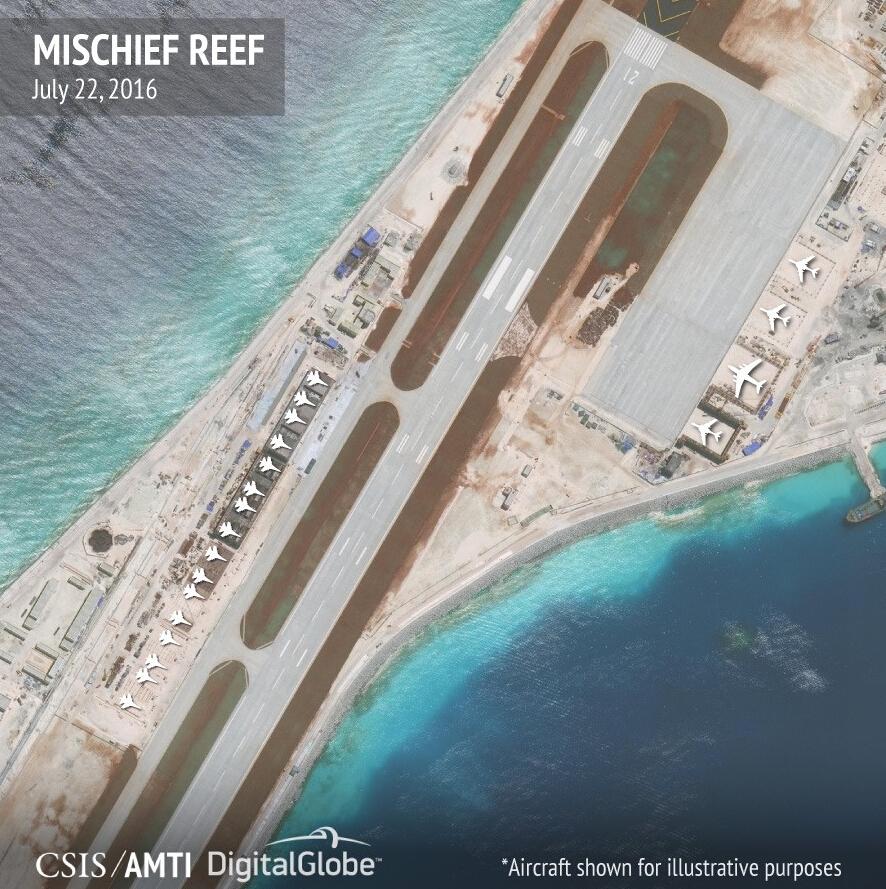 中国在南海岛礁竟建这玩意儿:美航母都怕了